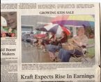 Fall 2007 Newspaper Article